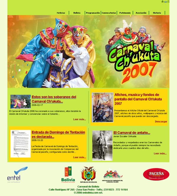 Carnaval de Bolivia