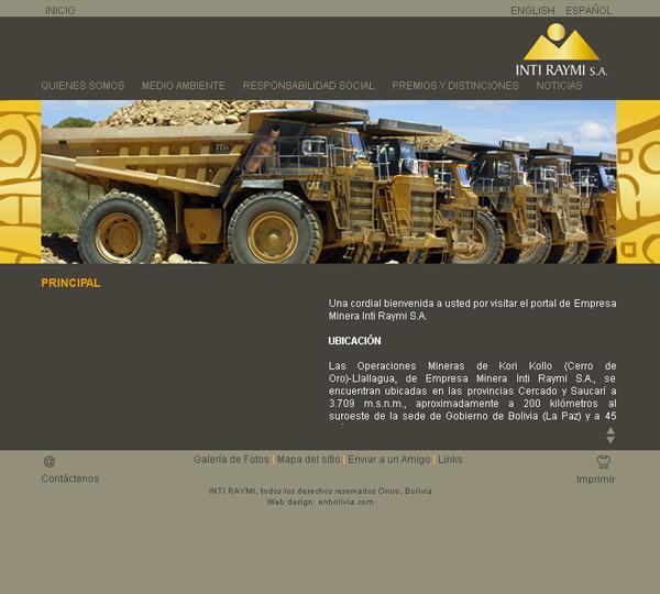 Empresa Minera Inti Raymi SA