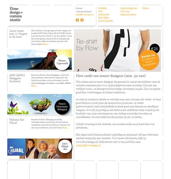Flow Design + Communicatie