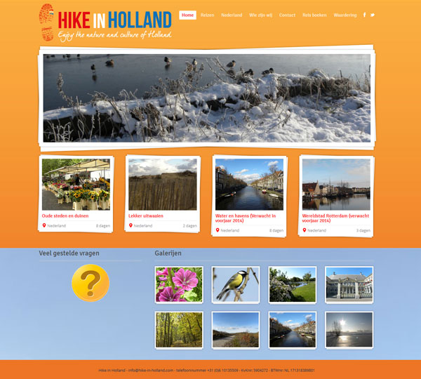 Hike in Holland -HIH
