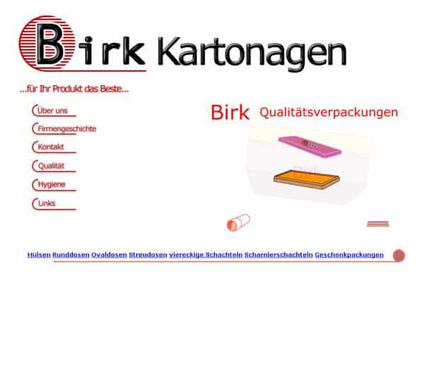 Birk Kartonagen