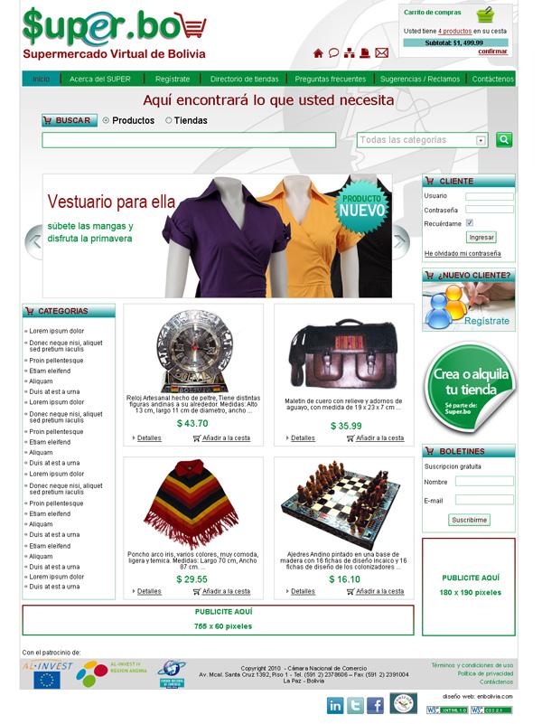 Camara Nacional de Comercio super.bo