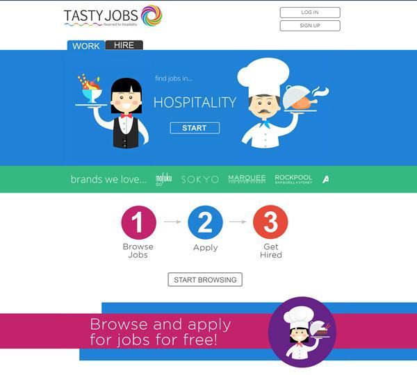 Tasty Jobs – Nuevo diseño y funcionalidades