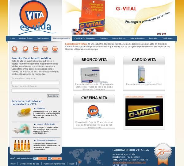 Laboratorios Vita Farmacéutica