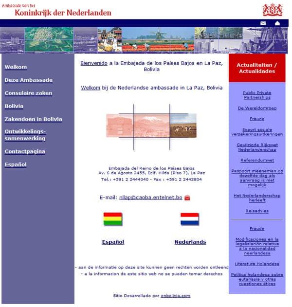Embajada de Holanda
