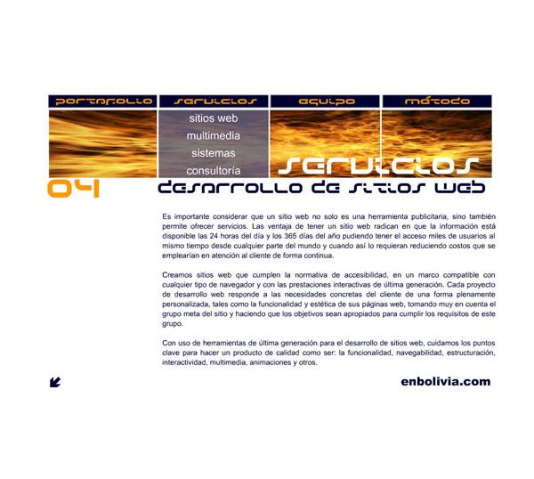 Presentación cuarto aniversario enbolivia.com