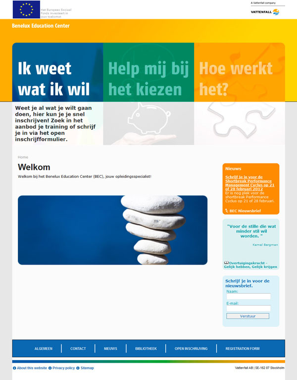 NUON Benelux Education Center