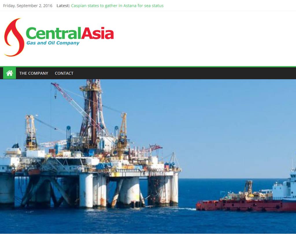CENTRAL ASIA – Gas and Oil Company